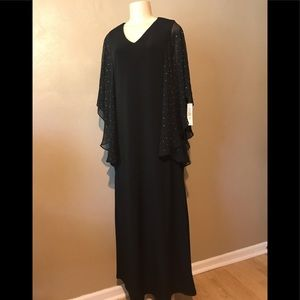 Glamour Nights evening dress size 10, polyester